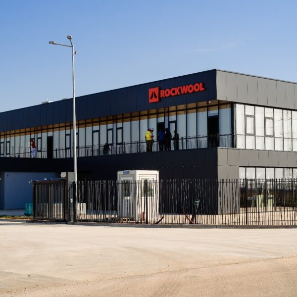 The first ROCKWOOL production plant in Romania was completed in the fall of 2019